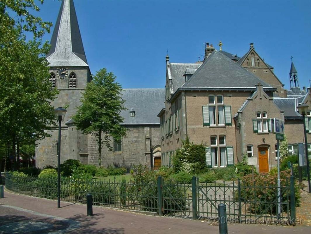 Kerktoren in Denekamp